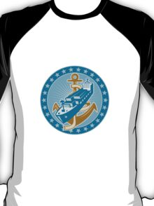 Container Ship Cargo Boat Anchor T-Shirt