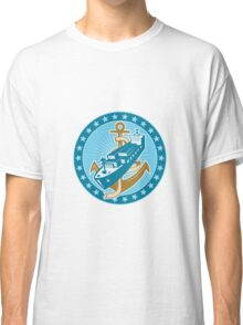 Container Ship Cargo Boat Anchor Classic T-Shirt