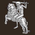 Death Rides A Lion by ZugArt
