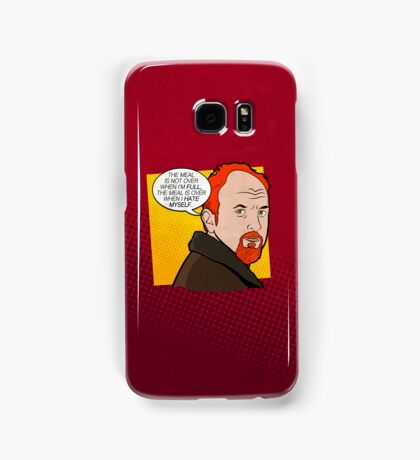 The Meal Isn't Over When I'm Full Samsung Galaxy Case/Skin