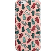 Mittens - Pink by Andrea Lauren  iPhone Case/Skin