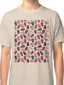 Mittens - Pink by Andrea Lauren  Classic T-Shirt