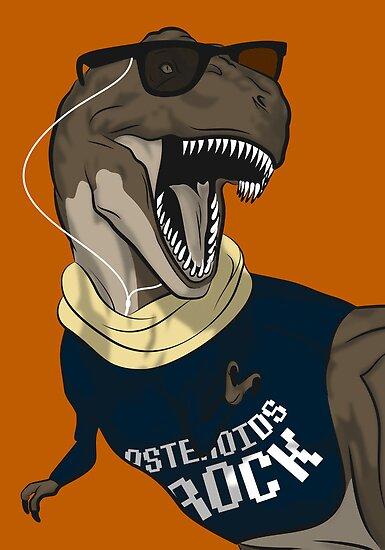 Hipstereosaurus Rex (Version 2) by trekvix