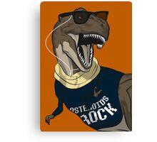 Hipstereosaurus Rex (Version 2) Canvas Print