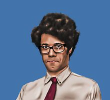 Richard Ayoade by StevePaulMyers