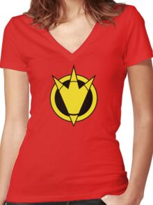 Roarin' and Scorin' Women's Fitted V-Neck T-Shirt