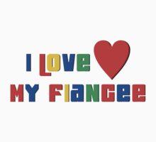 "Engaged ""I Love My Fiancee"" T-Shirt"