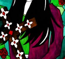 Peter Steele Stained Glass Sticker