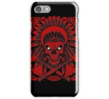 Chief Indian Skull iPhone Case/Skin