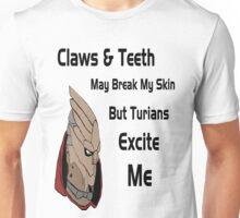 Turians Excite Me  Unisex T-Shirt