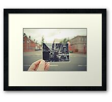 A snapshot of the past Framed Print