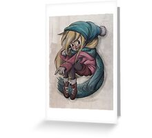 Winter is coming! Greeting Card