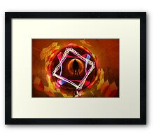 Mirror Image Framed Print