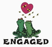 "Funny Engaged ""We're Engaged"" by FamilyT-Shirts"
