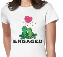 "Funny Engaged ""We're Engaged"" Womens Fitted T-Shirt"
