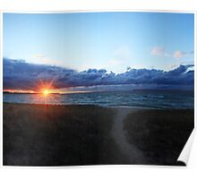 Lake Michigan Magic ~ Poster