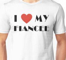 Engaged I Love My Fiancee Unisex T-Shirt