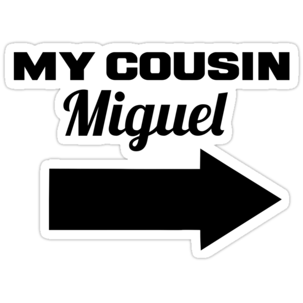 My cousin Miguel by Flippinawesome