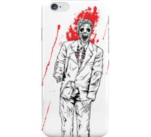 Zombie Office party iPhone Case/Skin
