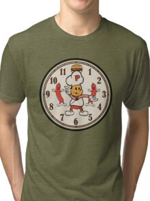 Hamburger Happy Hour Tri-blend T-Shirt