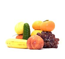 Fruit and Vegetables Ansamble  Photographic Print