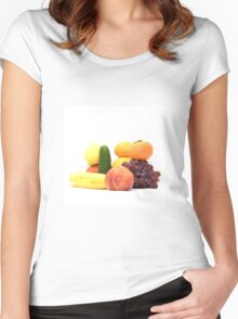Fruit and Vegetables Ansamble  Women's Fitted Scoop T-Shirt