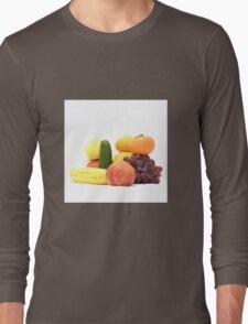 Fruit and Vegetables Ansamble  Long Sleeve T-Shirt