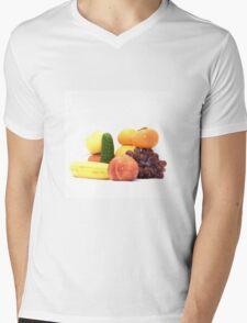 Fruit and Vegetables Ansamble  Mens V-Neck T-Shirt