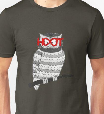 Hooty McOwlface RED Unisex T-Shirt