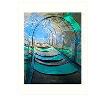 Mirror, Mirror Carny Slide Art Print