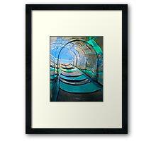 Mirror, Mirror Carny Slide Framed Print