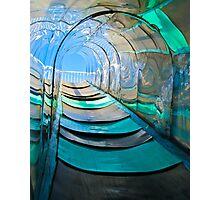 Mirror, Mirror Carny Slide Photographic Print