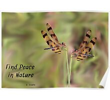 Halloween Pennant Twins. Poster