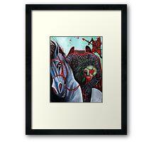 Stayne - Knave of Hearts Framed Print