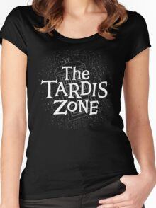 THE TARDIS ZONE Women's Fitted Scoop T-Shirt