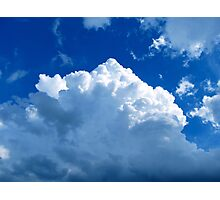 Cotton Sky Photographic Print