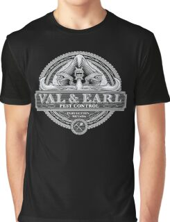 Val & Earl, Pest Control Graphic T-Shirt