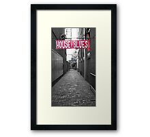 House of Blues Framed Print