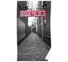 House of Blues Poster