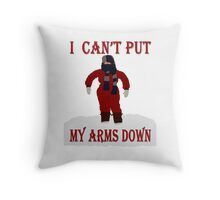 A Christmas Story - I Can't Put My Arms Down Throw Pillow