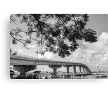 The Bridge at Paradise Island in The Bahamas Canvas Print