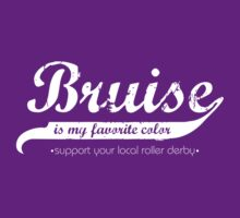 Bruise is my favorite color (sans band aide) by five5six