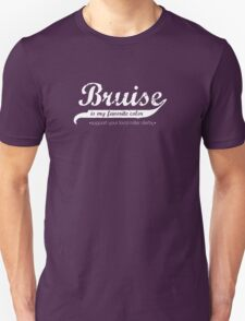 Bruise is my favorite color (sans band aide) T-Shirt