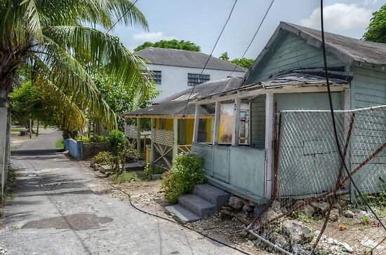 Hospital Lane in Nassau, The Bahamas by Jeremy Lavender Photography