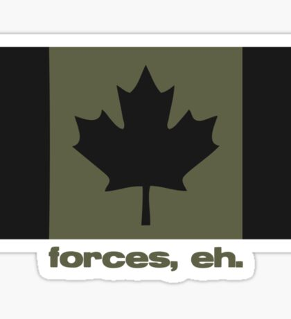 Forces, eh. Sticker