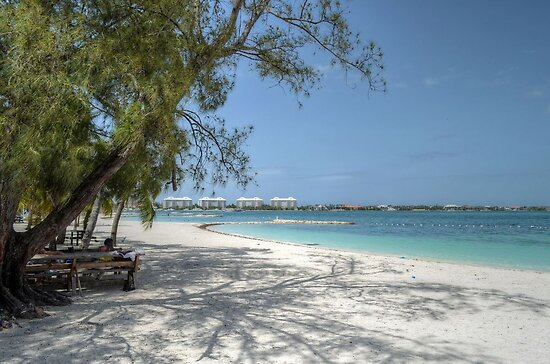 Montagu Beach in Eastern Nassau, The Bahamas by 242Digital