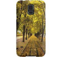 Boston, fall mood Samsung Galaxy Case/Skin