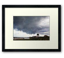 Heavy clouds II Framed Print