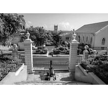 View of Downtown Nassau from Government House - The Bahamas Photographic Print