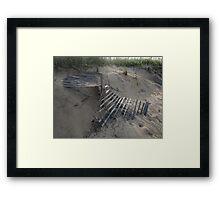 Sun Stroked Framed Print